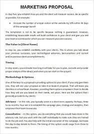 Advertising Proposal Template Word Advertising Proposal Template Word Advertising Proposal Template