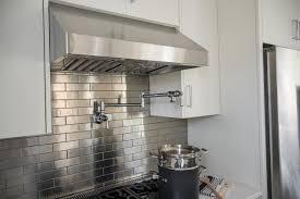 Home Design Kitchen 20 Photos Most Popular Stainless Steel Backsplash With  Shelf Regard T