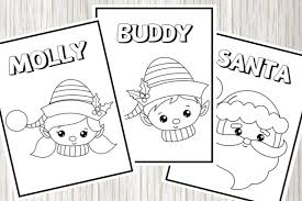 They're great for all ages. 10 Free Christmas Coloring Pages For Kids