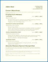 awards for resume objective for resume teenager teenager resume example resume resume