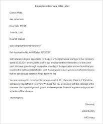 Sample Of Offer Letter For Employment 70 Offer Letter Templates Pdf Doc Free Premium Templates