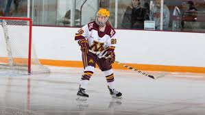 sarah potomak will represent her native canada against the u s in a three game series this week sarah potomak jim rosvold women s hockey