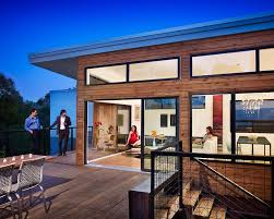6 prefab houses that could change home building builder prefab design modular building design heat recovery systems net zero energy