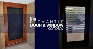 designer timber entrance door with security and airflow timber doors and windows