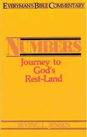 Jensen Bible Study Charts Numbers Irving L Jensen 9780802420046