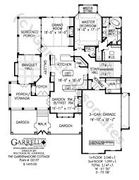 Gardenmoore Cottage House Plan   Luxury House Plansgardenmoore cottage house plan   st floor plan