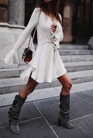 Aimee Frill Cuff Drawstring Mini Dress The Style Capsule