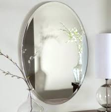 oval bathroom mirrors oval home depot bathroom mirrors above small glass flower vase and table lamp oval bathroom wall mirrors uk