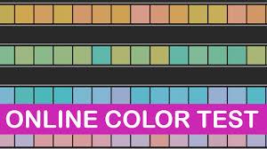 Munsell Color Chart Test Testing Color Vision Online Littlearttalks