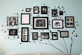 family pictures wall ideas decorate family room with best family picture ideas and black tree wall mural on grey painted family tree photo wall ideas
