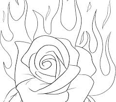 Rose Flower Coloring Pages Rose Flower Coloring Pages Rose Flower