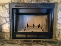 prefab fireplace inserts wood burning elite