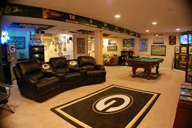 to impress with great wall decorations custom couches and even a custom pool table however what stands out the most is the focal point of the rug
