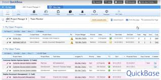 Quickbase Gantt Chart 10 Best Collaboration Software Systems You Should Try