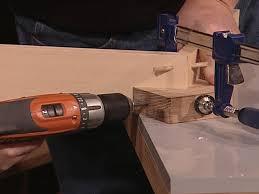 drill through hole in jig