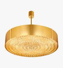 como chandelier matt gold with polished gold bands