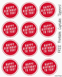 Free Printable Cupcake Toppers Free Stuff Cupcake Toppers Free