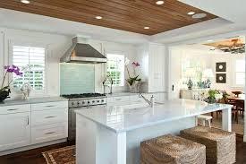 arctic white quartz. Beach House Kitchen Cabinets Tropical Style With Arctic White Quartz Counter And Aqua Glass E