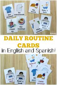 Printable routine cards & routine sets give kids visual cues about what comes next and the for moms, having a daily routine means that you are innately in touch with the rhythm for the day and when the kids are playing independently , napping or are at preschool, i have small breaks where i. Free Daily Routine Cards For Kids Look We Re Learning