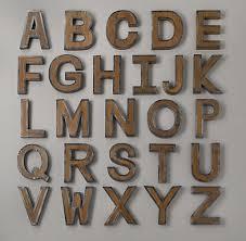 Restoration Hardware Vintage Letters