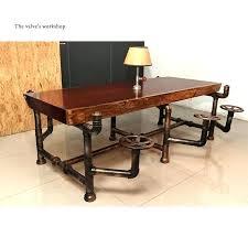 industrial style office desk. Industrial Style Office Furniture Desk F