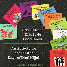 Encouraging Good Deeds On The First 10 Days Of Dhul Hijjah