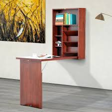 ergonomic wall mount writing table convertible folding computer desk storage intended for wall mounted writing desk