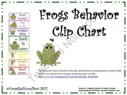 Frog Behavior Clip Chart Frogs Behavior Clip Chart From Overthemoonbow On