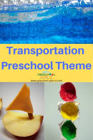Transportation Theme For Preschool