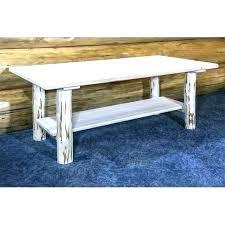 loon peak outdoor lighting coffee table rectangle elk mountain wood metal