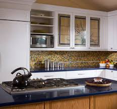 Wallpaper: Best Glass Door Kitchen Cabinets With Black Modern Stove; Cabinet;  August 11, 2017; Download 600 X 561 ...