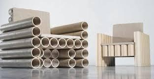 cardboard tube furniture.  cardboard paper tube chair paper tube chairs on cardboard furniture l