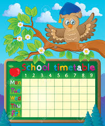 Class Time Table Chart Designs Bedowntowndaytona Com