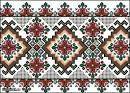 Орнаменты для рушников в схемах для вышивки крестом