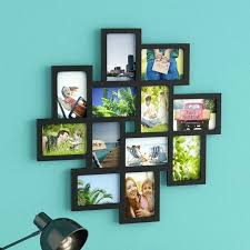 wooden wall frames es latitude run opening decorative wood photo collage