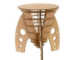 how to make cardboard furniture. Cardboard Rocket Table How To Make Furniture