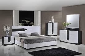 white and grey bedroom furniture. Hudson Contemporary Zebra Grey White MDF Wood Master Bedroom Set - By Global Furniture. And Furniture D