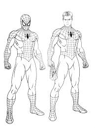 Spiderman coloring pages, siderman birthday coloring pages, draw and color tv. Spiderman Free To Color For Kids Spiderman Kids Coloring Pages