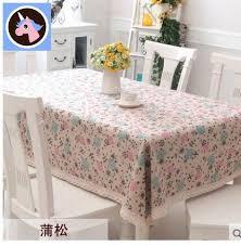 qoo10 linen linen style table cloth