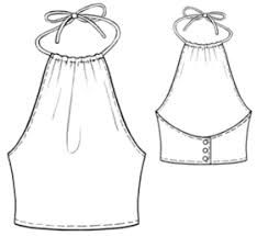 Halter Top Pattern