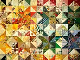 52 Free and Easy Patchwork Quilt Patterns with Images - My Happy ... & Triangle Design. Triangle Patchwork Adamdwight.com