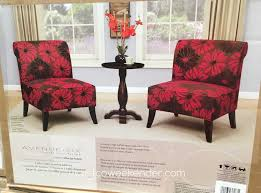 avenue six avenue six  piece chair and accent table set costco