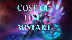cost of one mistake dota 2 youtube