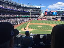 Tampa Yankees Stadium Seating Chart Yankee Stadium Section 217 Row 7 Seat 15 New York