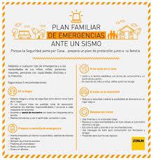 plan de emergencias familiar plan de emergencias familiar ante sismos