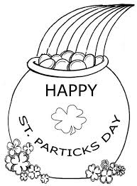 Projects Inspiration St Patrick Coloring Page Happy St Patricks ...