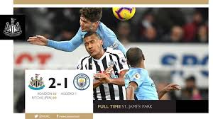 Image result for Newcastle 2 Man City 1