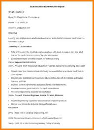 continuing education on resume.Sample-Adult-Education-Teacher-Resume -Template1.jpg