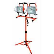 Hdx Dual Work Light Hdx 637449 Halogen Tel Tripod Worklight Amazon Com