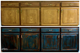 Bathroom Fascinating Steps Distressed Wood Cabinets Easy Crafts